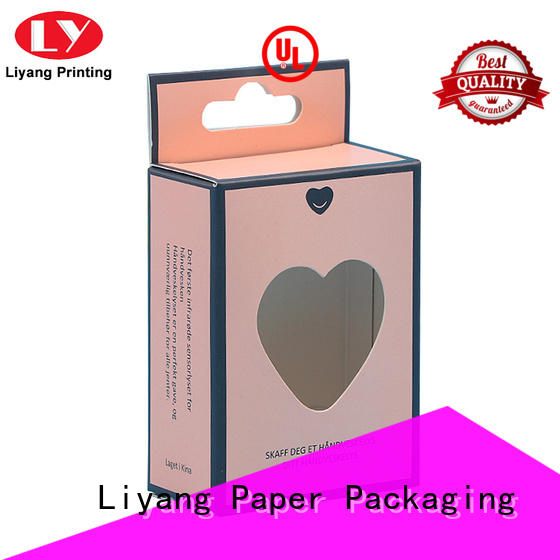 Liyang Paper Packaging purple cosmetic paper box high quality for nail polish