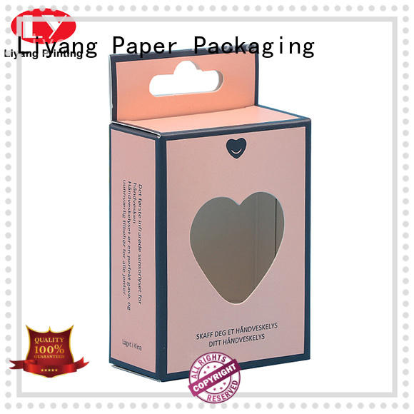 Liyang Paper Packaging luxury custom cosmetic packaging boxes bulk production for brush