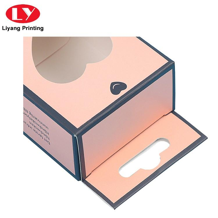 Liyang Paper Packaging black luxury cosmetic box board for packaging-3