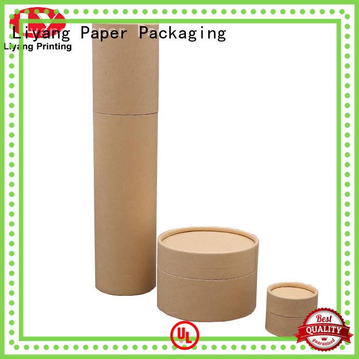 Liyang Paper Packaging custom design round box at discount for xmas