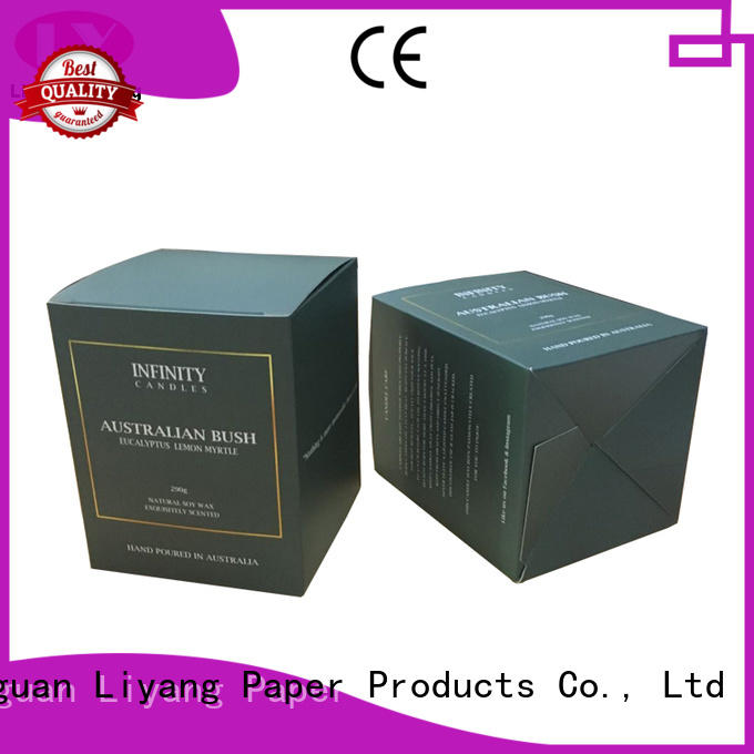 rigid candle box packaging fast delivery for restaurants