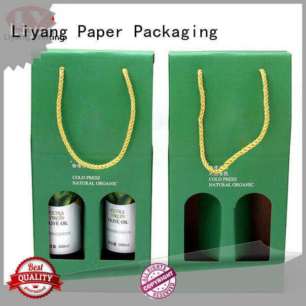 Liyang Paper Packaging wine box packaging free sample for spirit