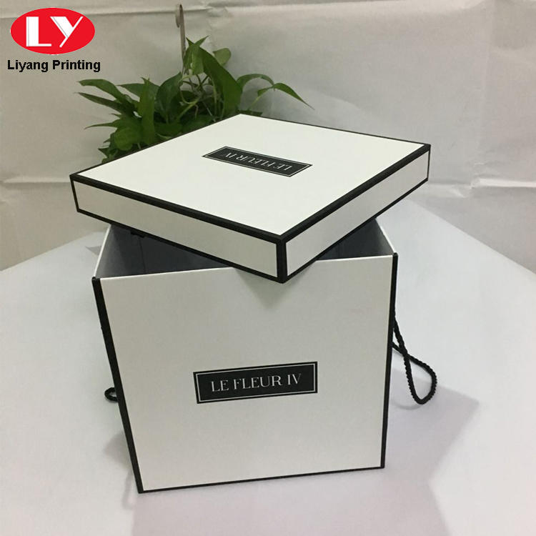 paper flower box packaging for cosmetics Liyang Paper Packaging-2