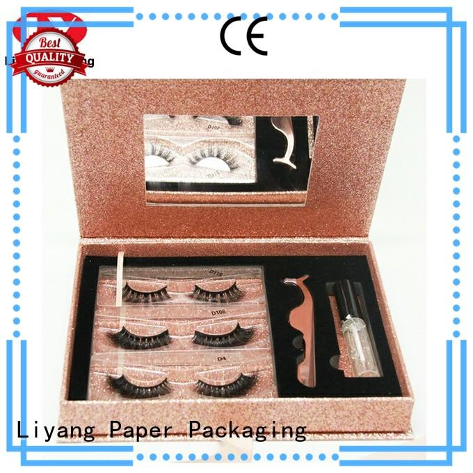 hanger cosmetic gift box ivory for brush Liyang Paper Packaging
