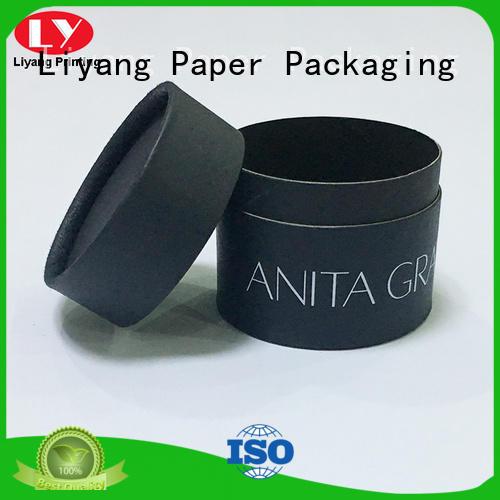 cylinder gift box custom design for christmas Liyang Paper Packaging