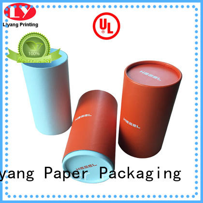 Custom Logo Paper Round Candle Packaging Box with Lid