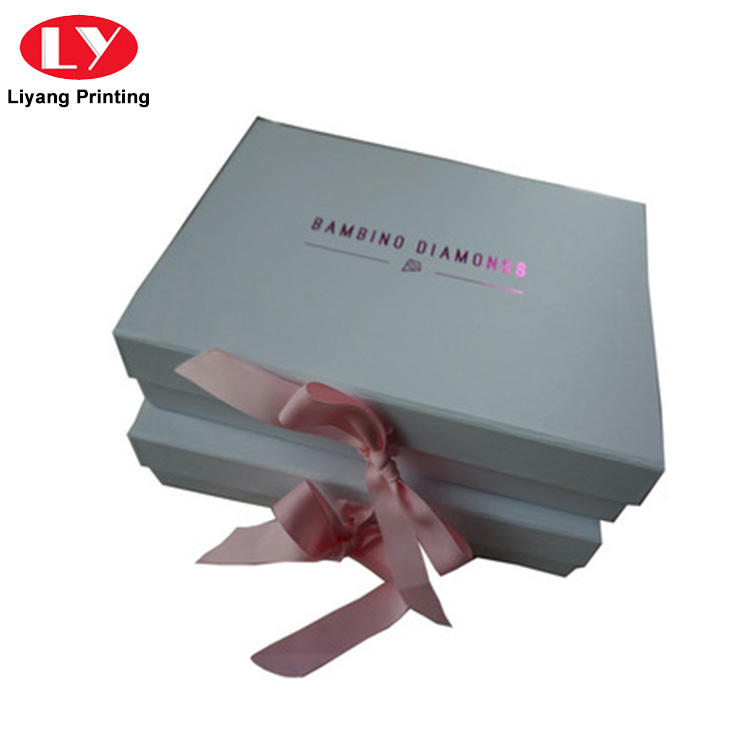 Liyang Paper Packaging silver custom gift boxes bulk production for chocolate-2