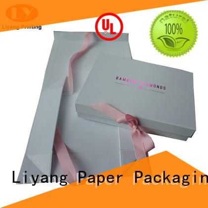 Liyang Paper Packaging luxury cardboard gift boxes pieces for christmas