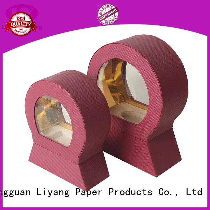 Liyang Paper Packaging black cardboard box for cosmetic hanger for makeup