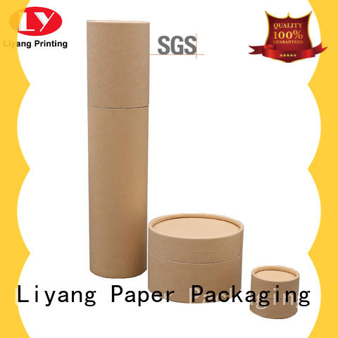Liyang Paper Packaging recycled round cardboard boxes on-sale for bracelet