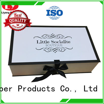 Liyang Paper Packaging all sizes clothing paper box ODM for wedding dress