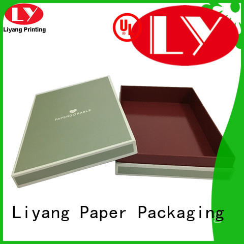 Liyang Paper Packaging logo quality gift boxes for christmas