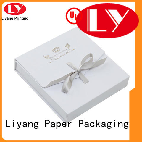 paper jewelry box paper for small bracelet Liyang Paper Packaging