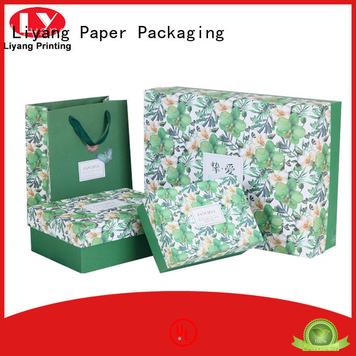 custom cosmetic packaging boxes hanger for makeup Liyang Paper Packaging