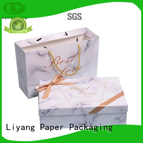 pieces cardboard gift boxes fast delivery for bakery Liyang Paper Packaging