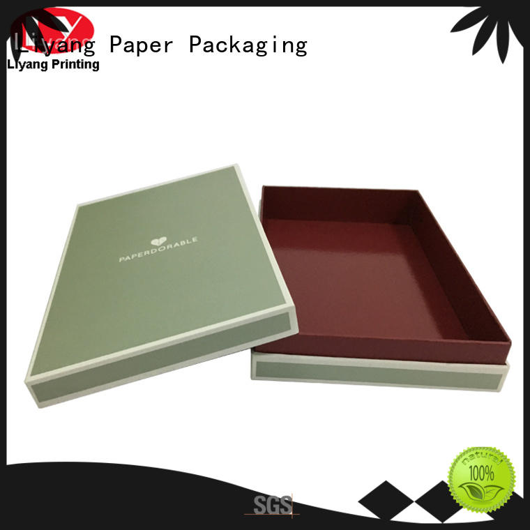 Liyang Paper Packaging corrugated decorative paper boxes fast delivery for bakery