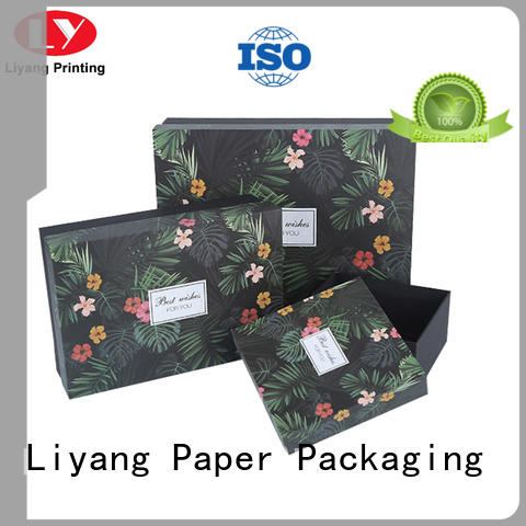 Liyang Paper Packaging packaging paper gift box bulk production for christmas