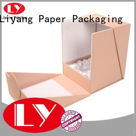 Liyang Paper Packaging luxury cardboard cosmetic box custom for brush