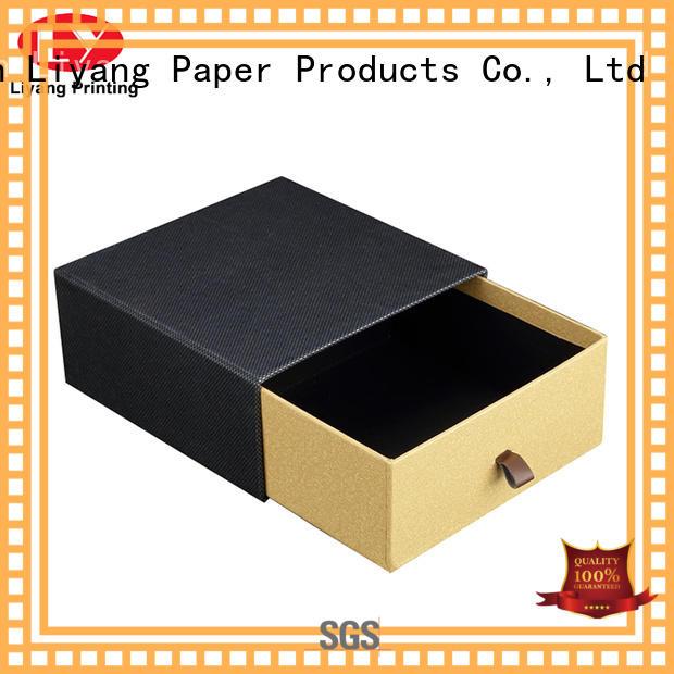 Liyang Paper Packaging lids paper gift box popular for bakery