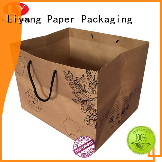 environmentally friendly paper gift bags ODM full and bright for cake