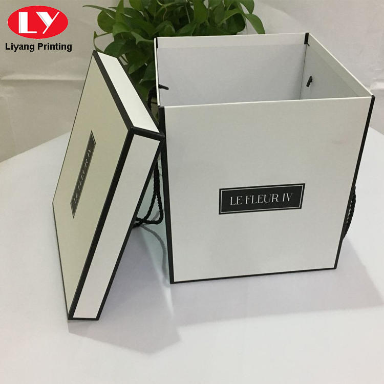 paper flower box packaging for cosmetics Liyang Paper Packaging-1