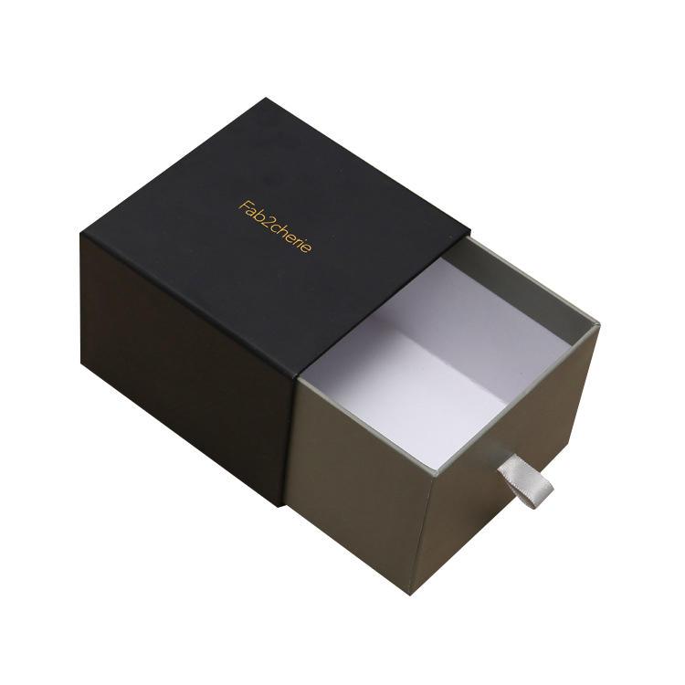 China Manufacturer Elegant Cardboard Paper Sliding Drawer Box for Gift Packing-2