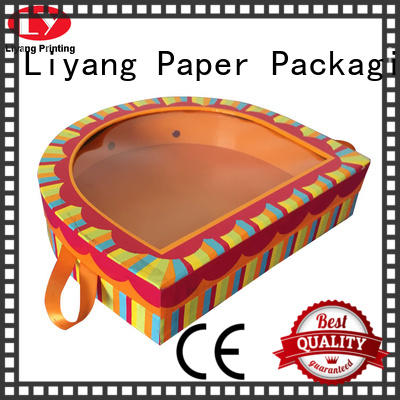 Liyang Paper Packaging high quality shape box free sample for christmas