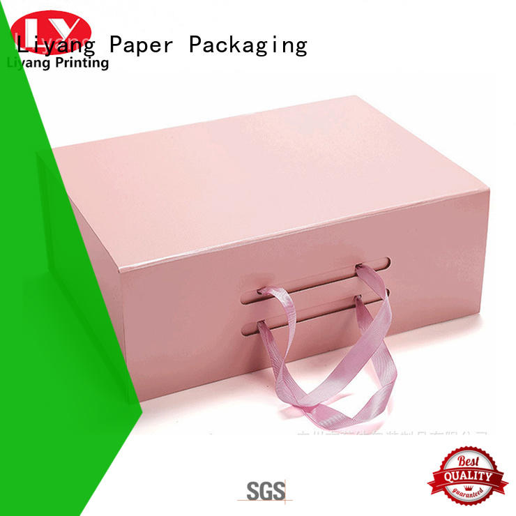 Liyang Paper Packaging cool shoe box storage wholesale fast delivery