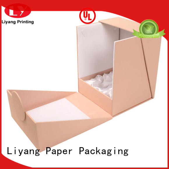 Liyang Paper Packaging handle makeup packaging boxes for wholesale for lipstick