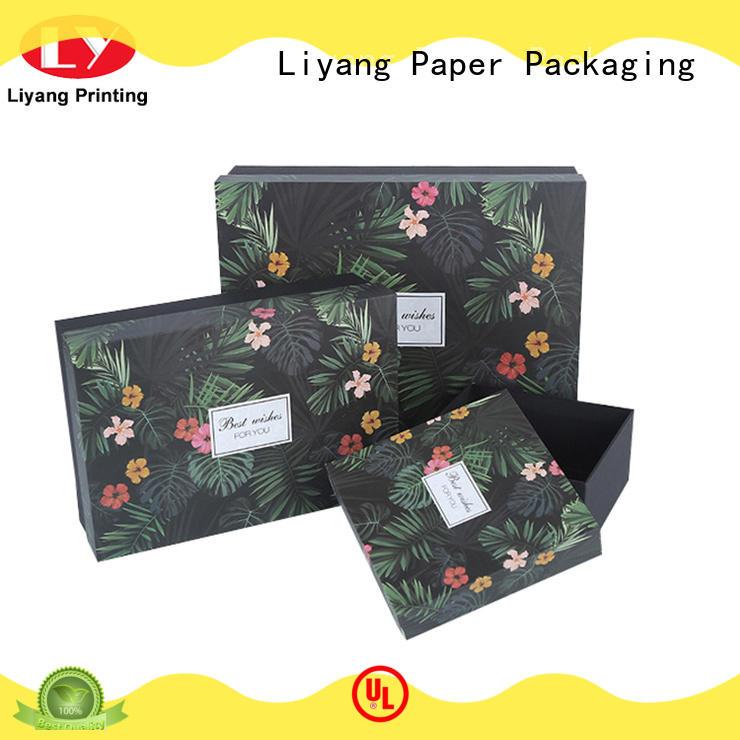 lids magnetic closure gift box bulk production for christmas Liyang Paper Packaging