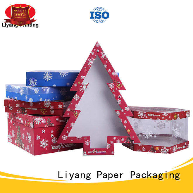 triangle shaped box print for chocolate Liyang Paper Packaging