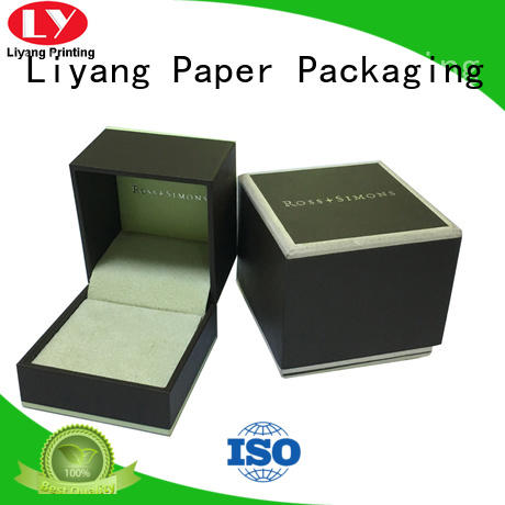 Liyang Paper Packaging recycled custom jewelry packaging high quality for small bracelet