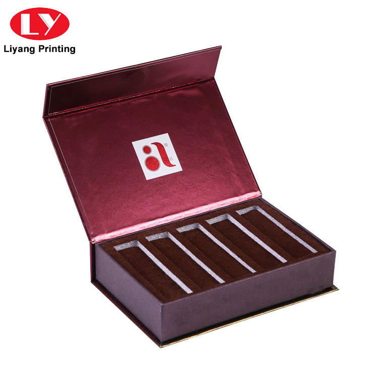 hair cosmetic paper box high quality for brush Liyang Paper Packaging-1
