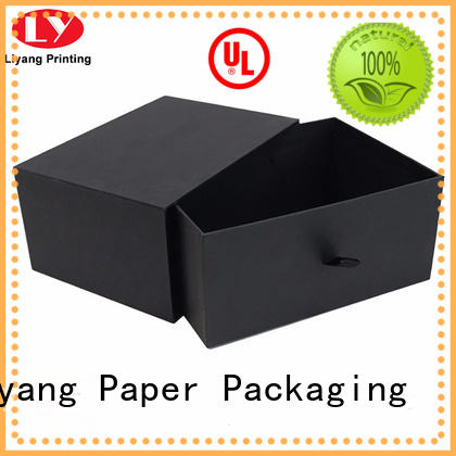 Liyang Paper Packaging drawer cardboard gift boxes with lids fast delivery for bakery