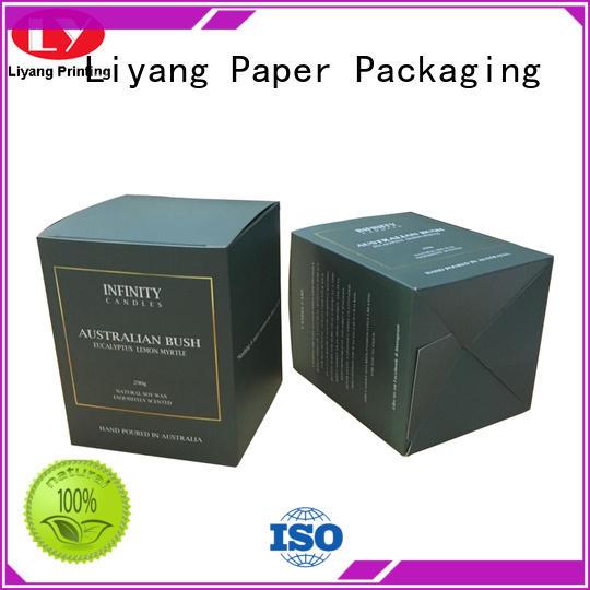 Liyang Paper Packaging paperboard candle box digital printing for homes
