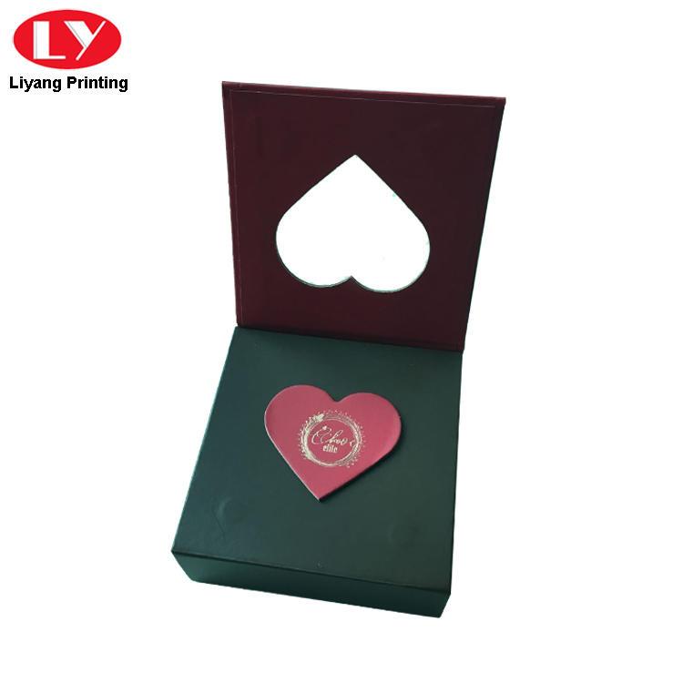 heart-shape custom food boxes free sample for chocolate Liyang Paper Packaging-2