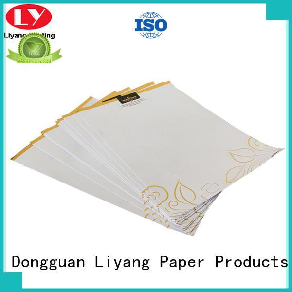 Liyang Paper Packaging folder presentation folders printing factory price for paper tag