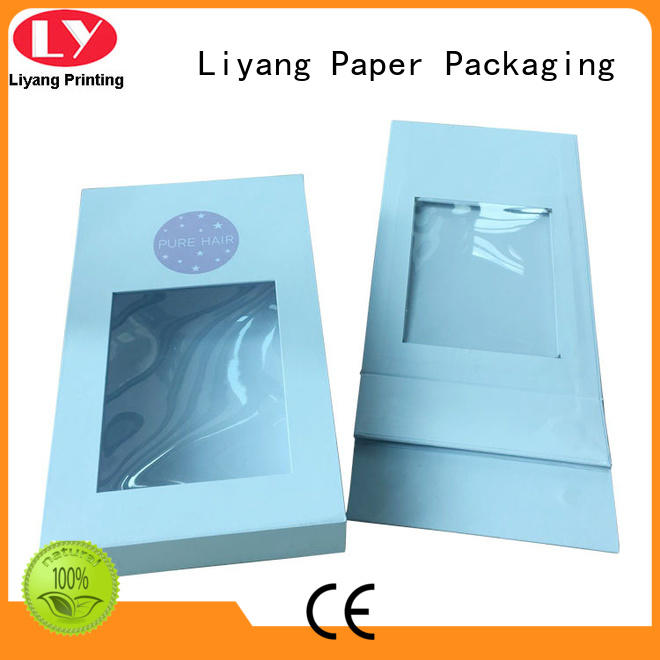 Liyang Paper Packaging rigid cardboard gift boxes mailer for chocolate