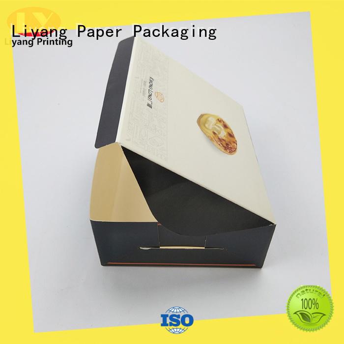 Liyang Paper Packaging custom food boxes free sample for biscuit