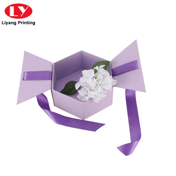 free sample paper flower box pink distinctive designs for delivery-1