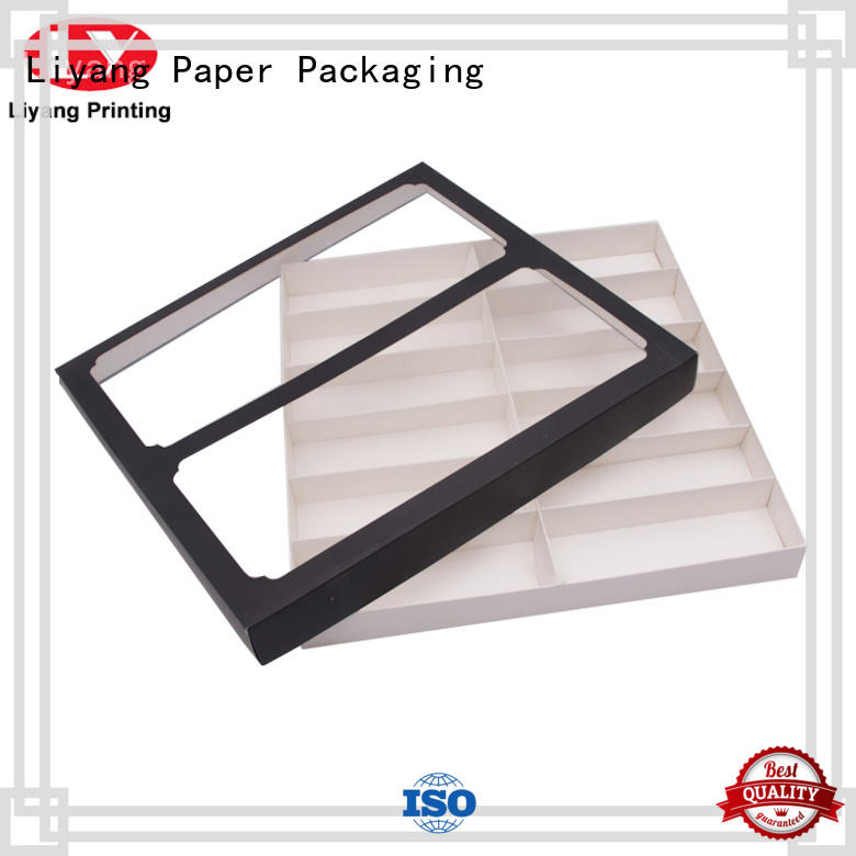 handmade wholesale gift box bulk production for soap Liyang Paper Packaging