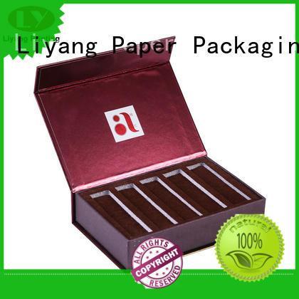 Liyang Paper Packaging board cosmetic gift packaging high quality for lipstick