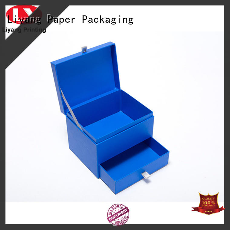 Liyang Paper Packaging rectangle paper gift box bulk production for christmas