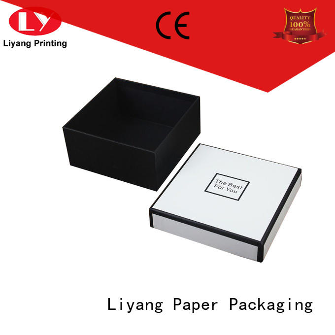 pvc cardboard gift boxes with lids popular for marble Liyang Paper Packaging
