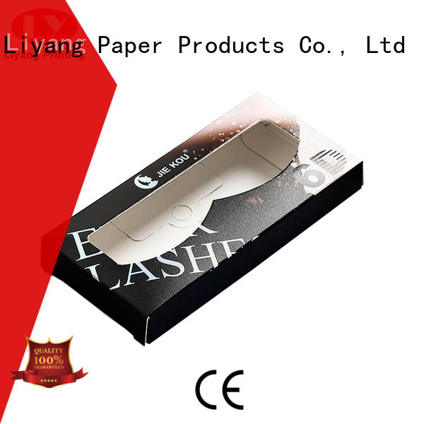 handle cosmetic paper box high quality for brush Liyang Paper Packaging