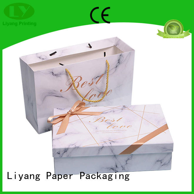 Liyang Paper Packaging price packaging gift box fast delivery for soap