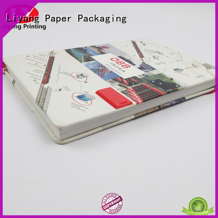 Liyang Paper Packaging recycled paper notebooks door widely used