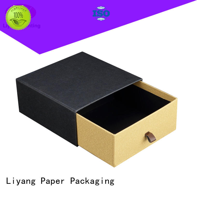 decorative paper gift box drawer fashion design for marble