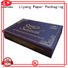 base cardboard gift boxes with lids pieces for marble Liyang Paper Packaging