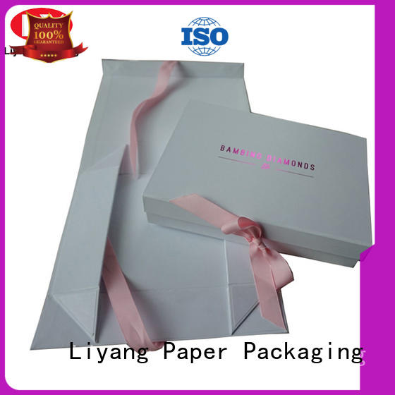 Liyang Paper Packaging printed gift paper box popular for soap